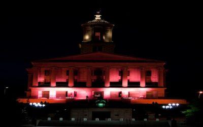 Light up the world pink